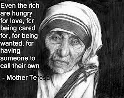Mother Teresa Rich Quote